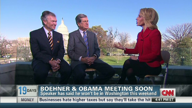 Lott and Daschle offer negotiation tips