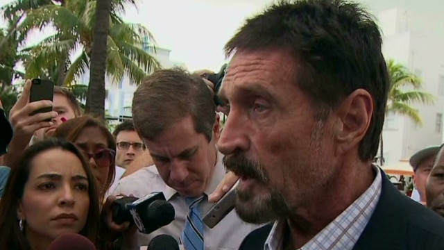 McAfee: Heart attack was 'a ruse'
