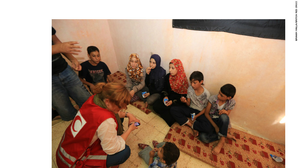 The U.N. reports that half a million people have registered as refugees from the Syrian civil war -- but a recently returned Red Cross worker says the true figure is far higher because those fleeing are too scared to register.