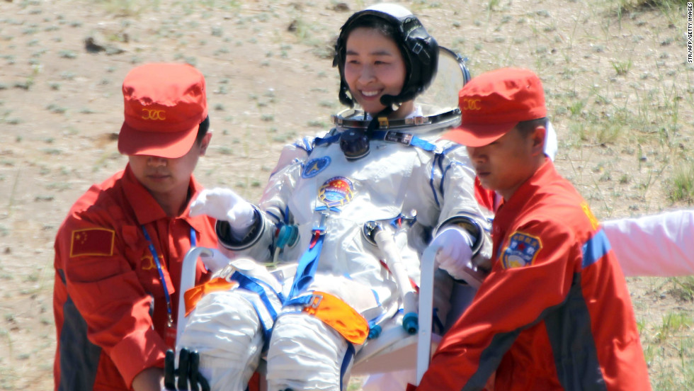China fired its first woman into orbit in 2012, could a Chinese astronaut set foot on the moon in 2013?
