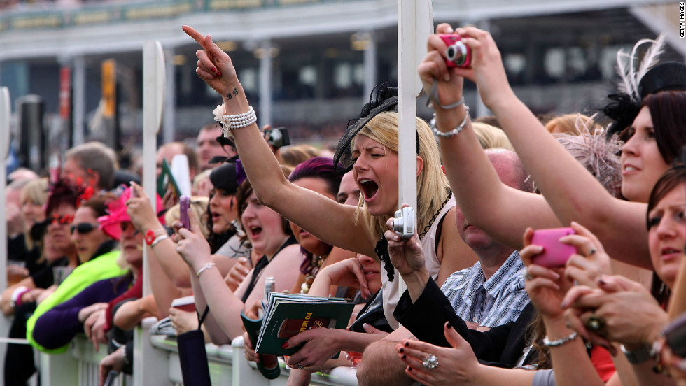 "Horse racing is the second biggest spectator sport in Britain after football, with around 6 million people heading to the track every year. ""People used to focus on the day out, rather than the race,"" said Simon Bazalgette, chief executive of The Jockey Club."