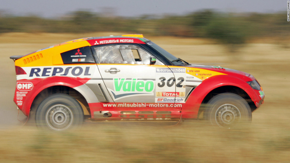 Driving a Mitsubishi, the 1997 World Cup skiing champion Luc Alphand won the 2006 Dakar. However his win was overshadowed by the deaths of two young spectators and Australian motorcyclist Andy Caldecott, who died on stage nine.