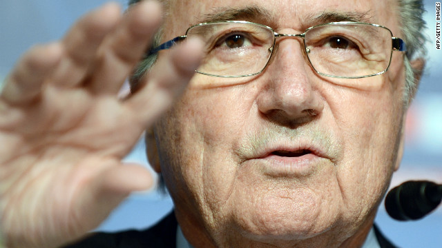 FIFA president Sepp Blatter has vowed to crackdown on racism in football.