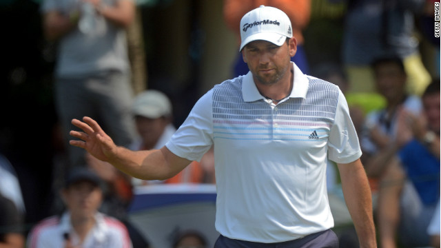 Spain's Sergio Garcia won his second title of 2012 with a stunning final round at the rain-disrupted Johor Open in Malaysia.