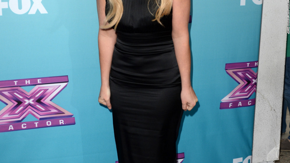 "Britney Spears attends en event for ""The X Factor."""