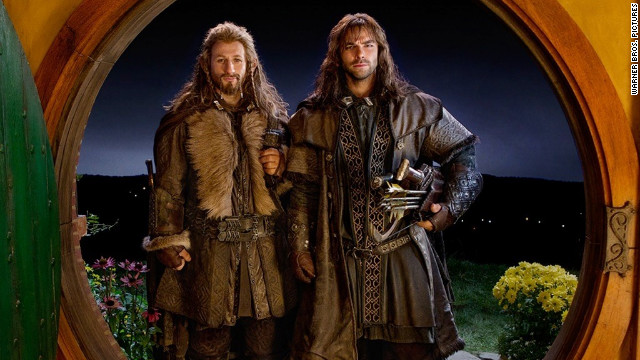 "Dean O'Gorman and Aidan Turner star in ""The Hobbit: An Unexpected Journey."""