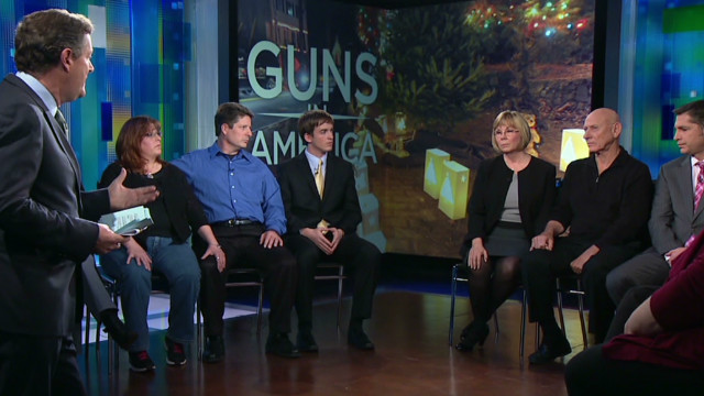 Aurora victims speak on Newtown shooting
