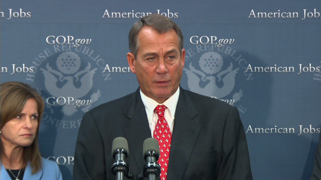 GOP offers fiscal cliff 'Plan B'