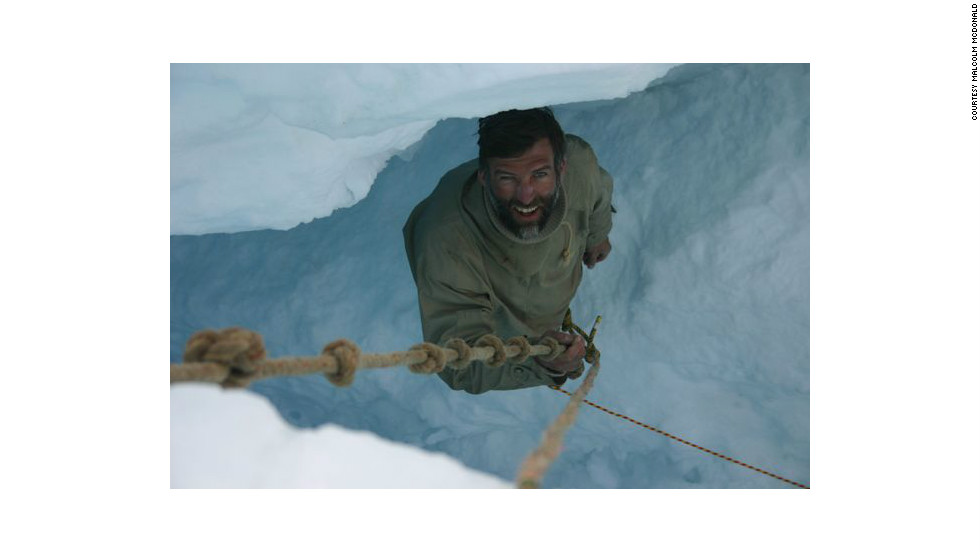 Expedition leader Tim Jarvis has journeyed across Antarctica before, but thinks this is the hardest challenge yet.