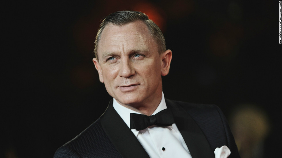 "CNN's readers play favorites when it come to Daniel Craig, who played the most recent James Bond. Besides, who doesn't love a man <a href=""http://marquee.blogs.cnn.com/2012/10/25/adeles-skyfall-reduced-daniel-craig-to-tears/?iref=allsearch"" target=""_blank"">who can cry while listening to Adele?</a>"