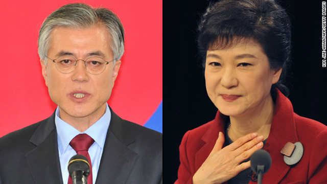 A tight presidential race in South Korea