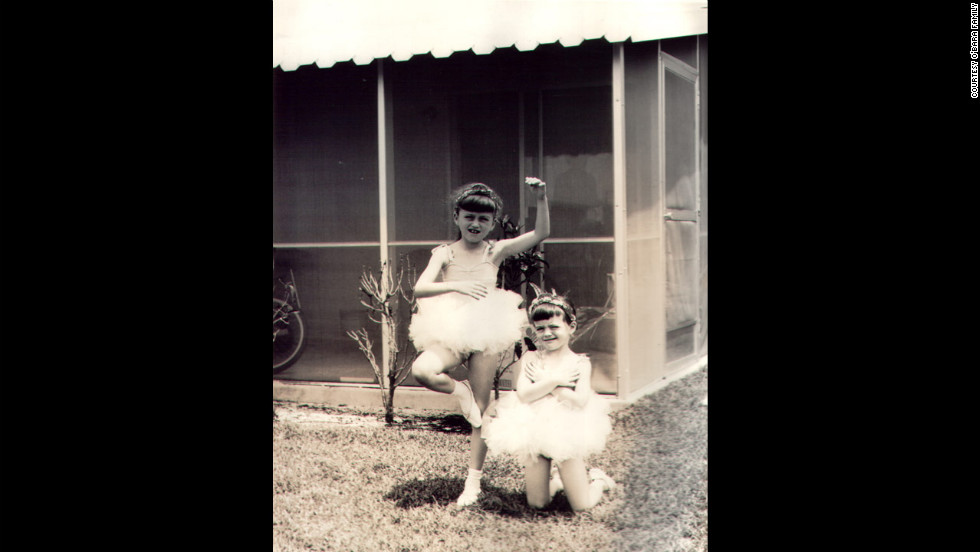 Edwarda and Colleen dressed as ballerinas. Born just 18 months apart, the sisters were inseparable. Edwarda was the studious, obedient, loving child. Colleen was the mischievous tomboy.