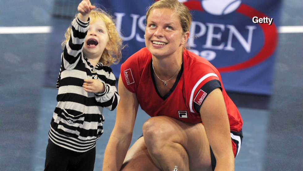 Kim Clijster suffers a setback in her return to professional tennis