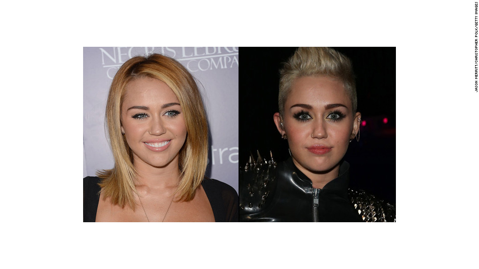 "Oh wily Miley. We have watched you morph this year from a former Disney star to a harder-edged rocker type who <a href=""http://www.cnn.com/video/#/video/showbiz/2012/12/11/sbt-miley-cyrus-concert.hln"" target=""_blank"">performs with strippers</a>. What would Hannah Montana say?"