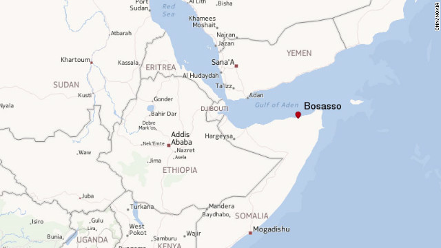 Survivors said the boat started having trouble after leaving the port of Bosasso in northern Somalia.