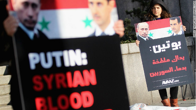 Russian diplomat defends Assad support
