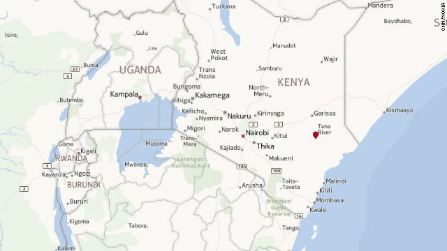 Map: Tana River, Kenya
