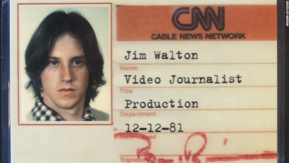 Jim Walton started at CNN in 1981 as an entry-level video journalist, or VJ. He is stepping down as president of CNN Worldwide.