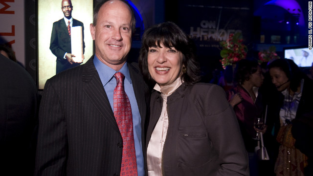 "Christiane Amanpour says Walton ""saw the whole grand experiment of CNN through from its birth."""