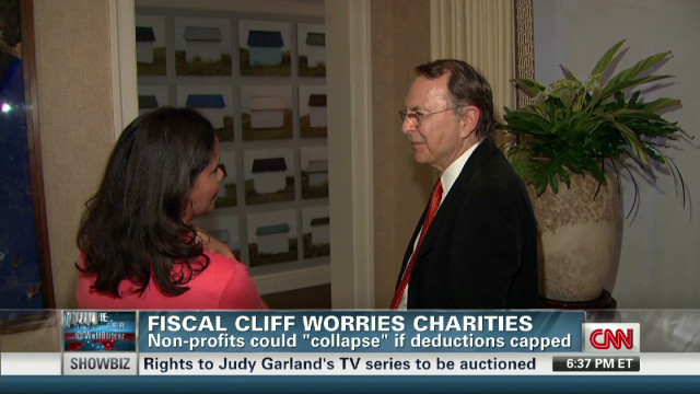 Fiscal cliff worries charities