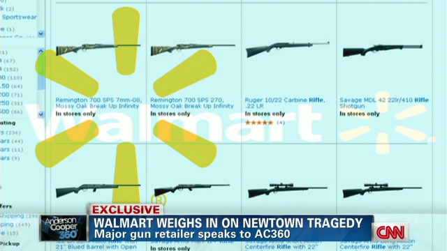 Wal-Mart won't decrease gun sales