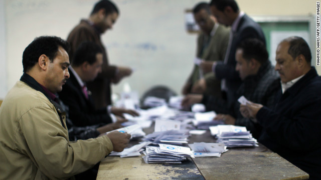 Low vote turnout on Egypt's constitution