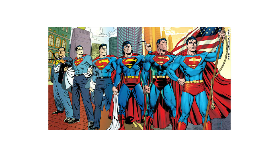 "After Superman took the side of Iranian dissidents in 2011's ""Action Comics"" No. 900, he decided to renounce his American citizenship because he did not want his actions to be seen as U.S. policy. The pre-""New 52"" story was criticized, especially considering his old slogan was ""Truth, justice and the American way."""