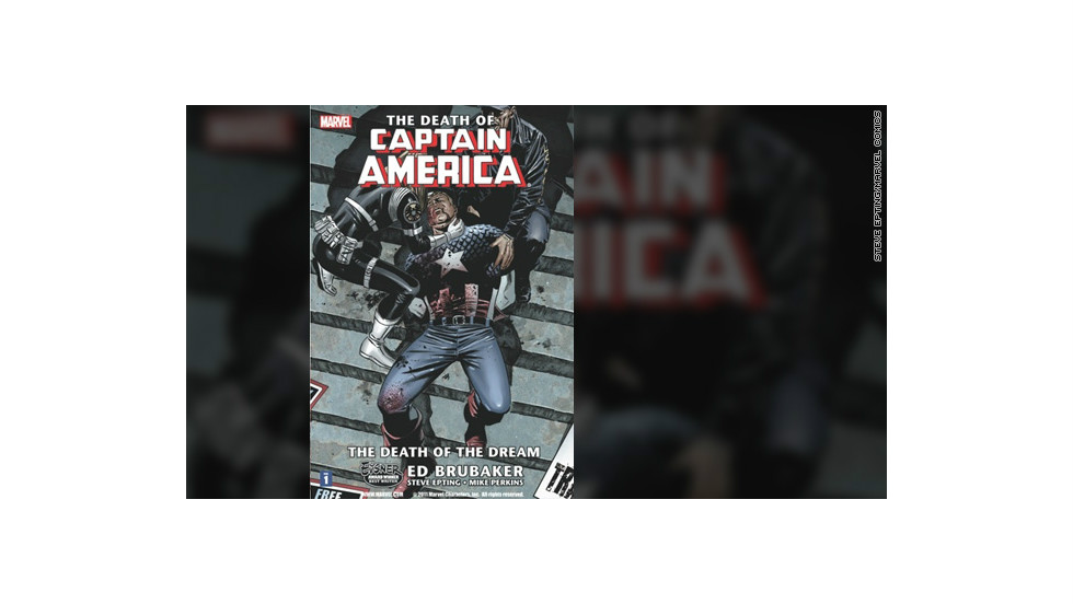 "Captain America's (aka Steve Rogers') assassination, seen as symbolic of attitudes toward the U.S. at the time, was the most talked-about comic book storyline in 2007. ""Captain America"" No. 25 sold through the roof after the story received huge media attention. Cap returned in 2009, but not before his former sidekick Bucky Barnes (who himself was believed to be dead for decades) took charge of the famous mask and shield."