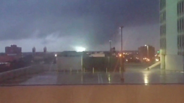 Watch tornado strike Mobile, Alabama