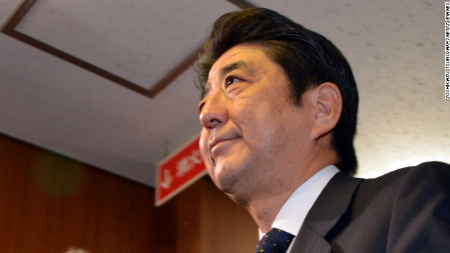 Shinzo Abe returns to power in Japan