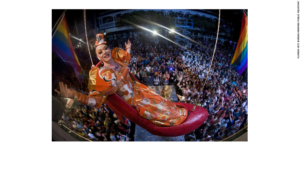 "For 16 years, Gary ""Sushi"" Marion has taken center stage on New Year's Eve in Key West, Florida, as the star of the annual ""shoe drop."""