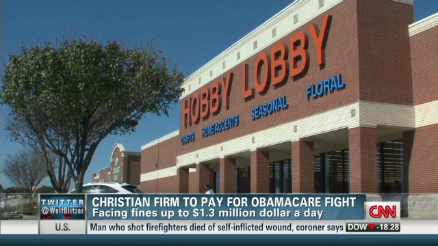 Hobby Lobby takes on Obamacare