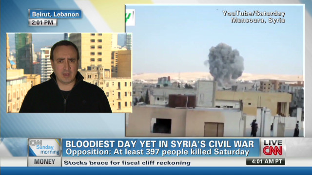 Bloodiest day in Syria