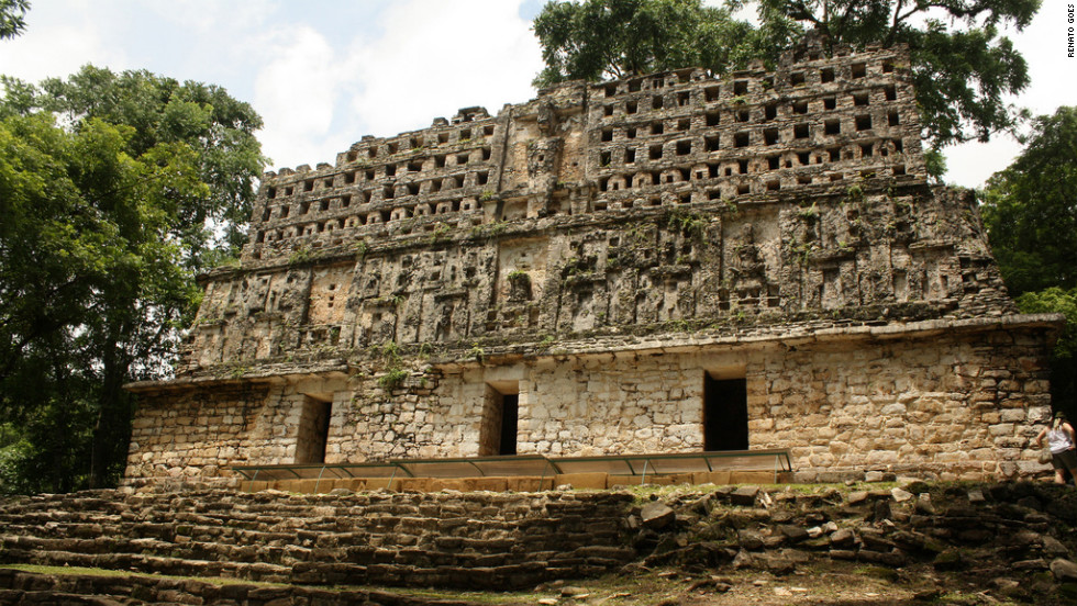"Yaxchilán ruins in Chiapas, Mexico. See the rest of Travel+Leisure's gallery <a href=""http://www.travelandleisure.com/articles/worlds-most-mysterious-buildings/12"" target=""_blank"">here</a>."