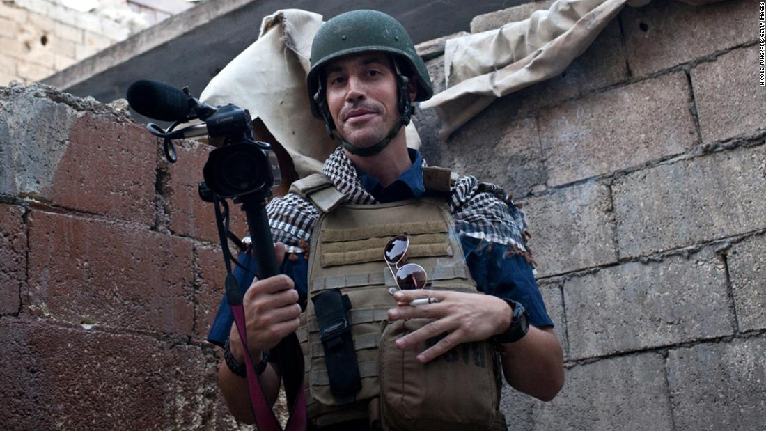 "On August 19, 2014, American journalist James Foley <a href=""http://www.cnn.com/2014/08/19/world/meast/isis-james-foley/"" target=""_blank"">was decapitated by ISIS militants </a>in a video posted on YouTube. A month later, they released videos showing the executions of American journalist Steven Sotloff and British aid worker David Haines."