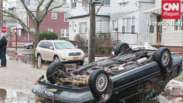 Thousands still without power after Sandy