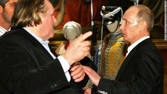 Putin offers passport to actor Depardieu