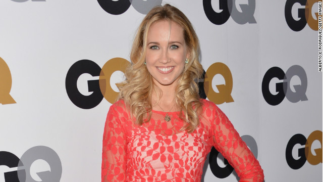 Anna Camp arrives at the GQ Men of the Year Party at Chateau Marmont on November 13, 2012 in Los Angeles, California.