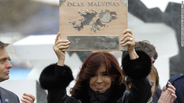 Argentina still fighting for Falklands