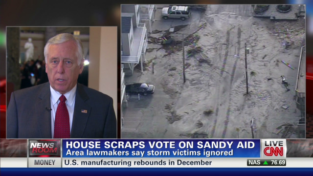 Hoyer on Sandy inaction: 'It's a tragedy'