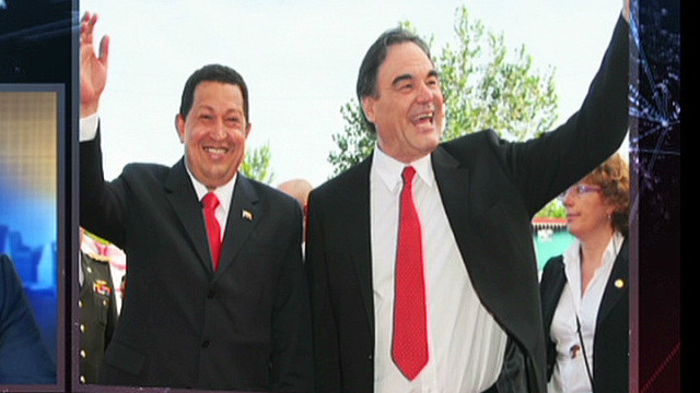 Oliver Stone 'very fond' of Chavez