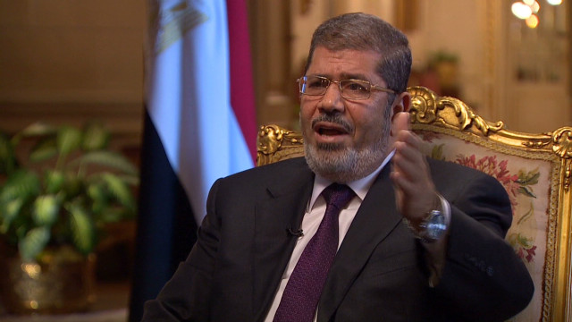 Morsy on al-Assad and war crimes