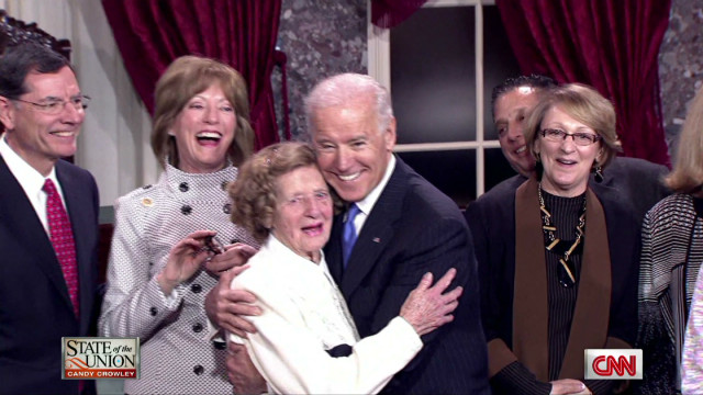 Keeping up with Joe Biden