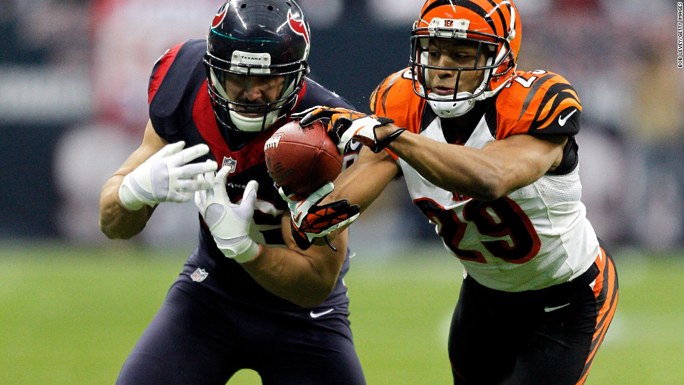 Leon Hall of the Cincinnati Bengals would return this interception 21 yards for a touchdown.