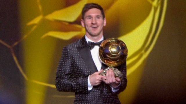 Messi claims fourth Ballon d'Or