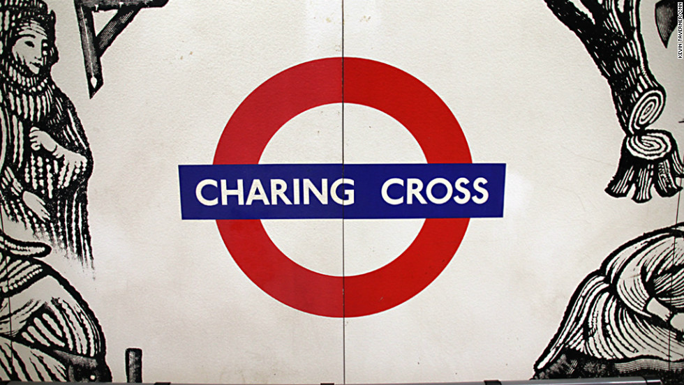 Charing Cross station used to be known as Trafalgar Square, which many regard as the center of the capital.