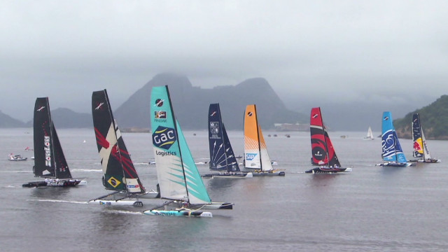 Testing the Olympic sailing waters