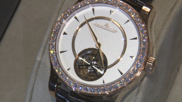 Luxury watchmaker grows brand