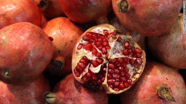 Pomegranate seeds from Turkey in a frozen fruit mix may be the cause of a hepatitis A outbreak.