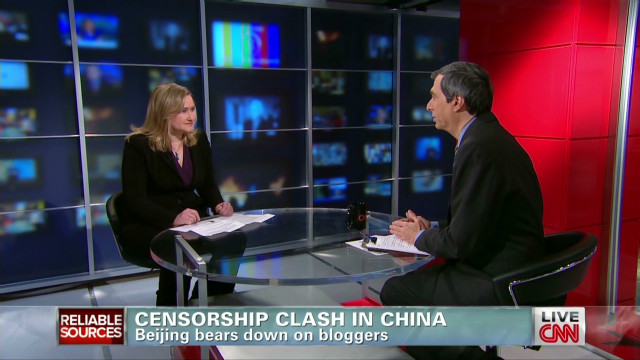 Censorship clash in China